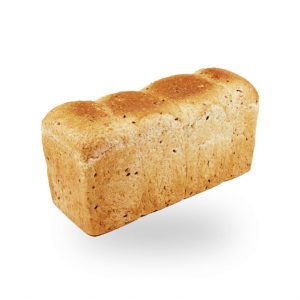Bread Tin Horizontal Slice Coloured Loaf
