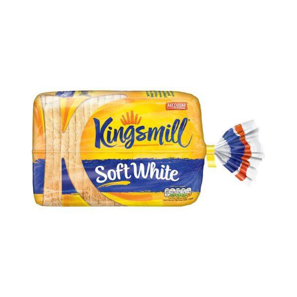 Bread White Medium Sliced Kingsmill