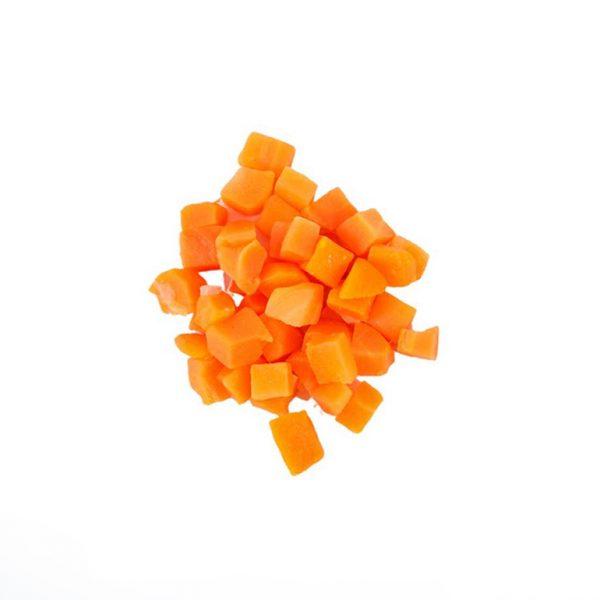 Prepared Carrot Diced 5 Kg 25Mm