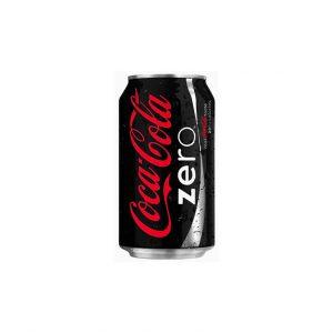 Coca Cola Zero 330ml Can 1X24