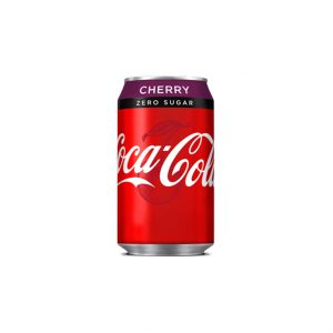 Coca Cola Cherry Zero 330ml Can 1X24