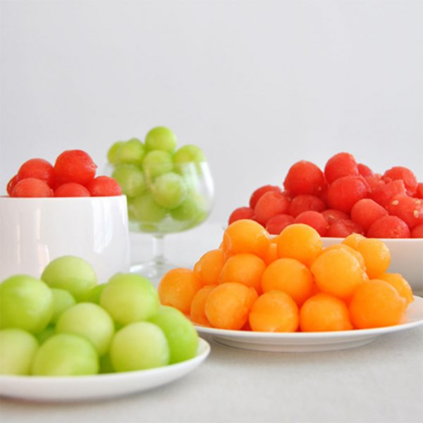 Prepared Melon Water Balls Tub 2Kg